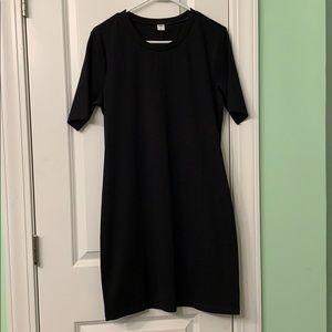 Black dress by Old Navy. Medium.
